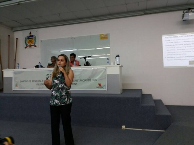 Palestra na Universidade Federal de Santa Catarina (UFSC)