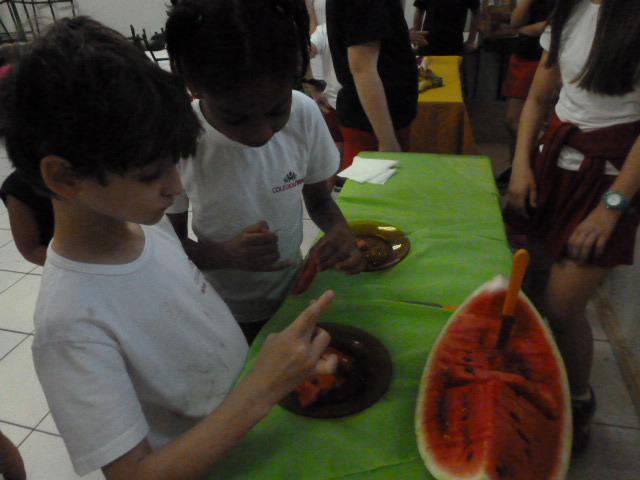 Fruits and vegetables - 5º ano/EF